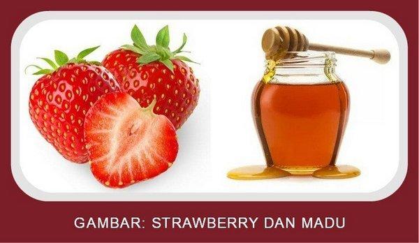 Strawberry dan Madu