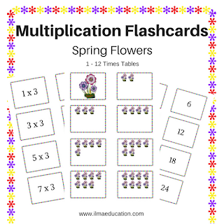 Times Tables and Groupings Cards