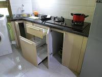 Kitchen Set Dinding Tidak Siku