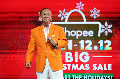 Shopee Introduces New Christmas Ambassador, Jose Mari Chan,  for Shopee 11.11 – 12.12 Big Christmas Sale
