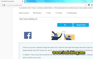 Free Web Proxy Server Untuk Membuka Web Yang Diblokir