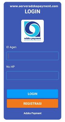 Cara Login Aplikasi Adzka Payment