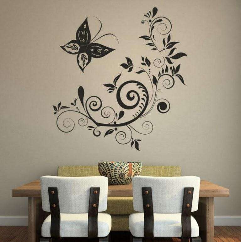 Pinturas En Paredes Decorar Con Tcnica Del Salpicado Paredes Tipos - Pinturas-en-paredes