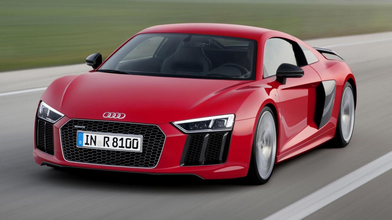 Audi R8 V10 Plus - 3,2 giây