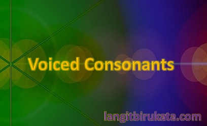 Voiced Consonants
