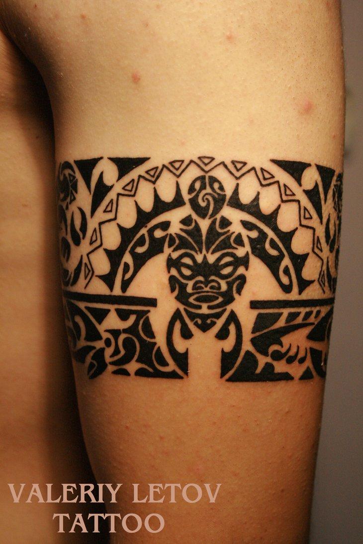 Tatuaje Maori Brazalete Interesting Beautiful Best Tattoo Pierna