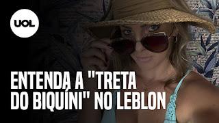 """Tatá Wernec corrigida pela filha – Entenda a """"treta do biquíni"""" no Leblon"""