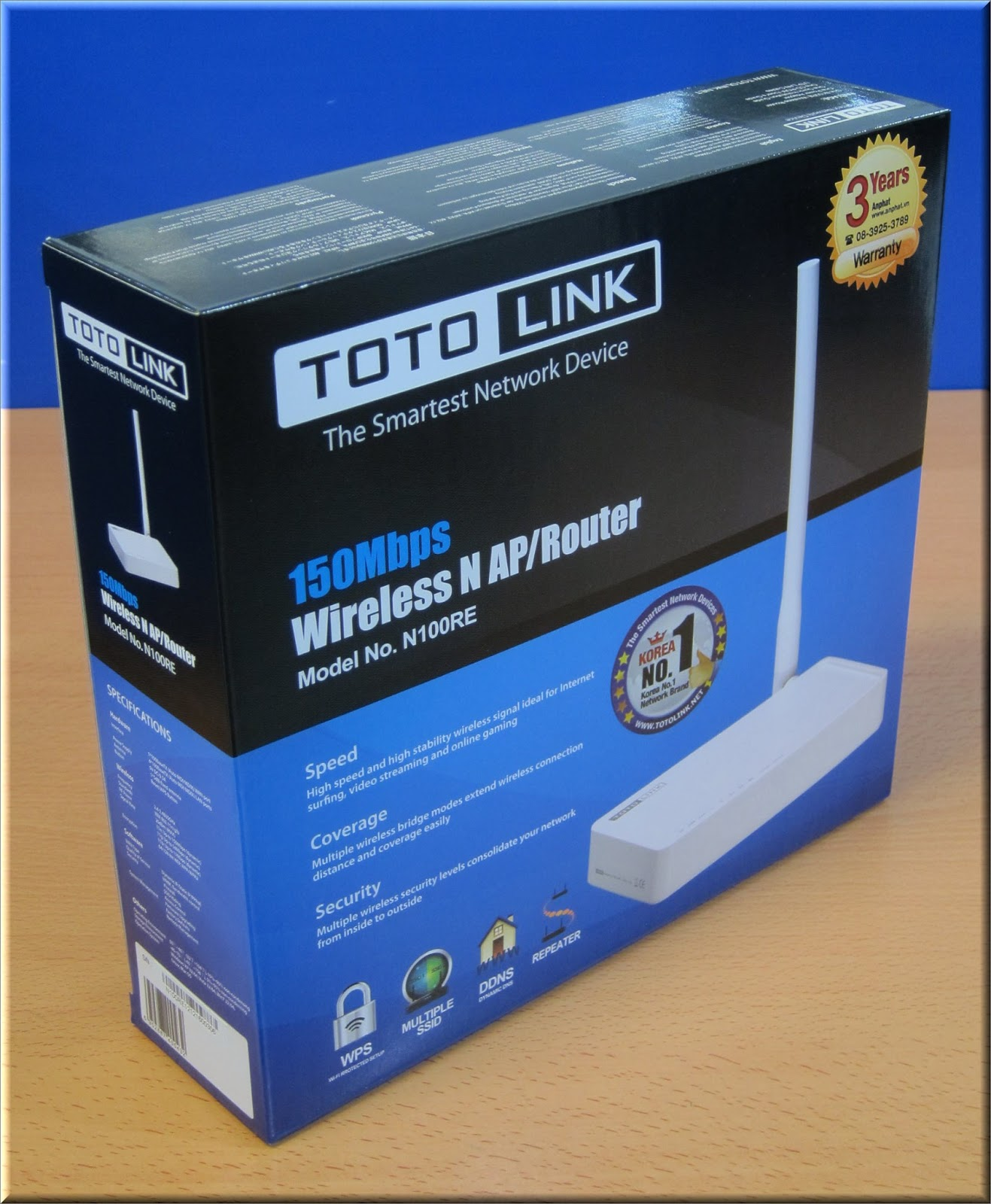 Hd Review Digital Wireless Repeater Totolink N100re