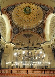 Interior Masjid Sulaimaniah