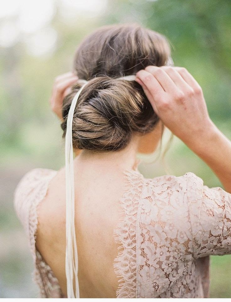Peinado de novia segun tu rostro