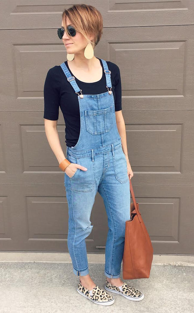 How to Wear Overalls and Still Look Your Age