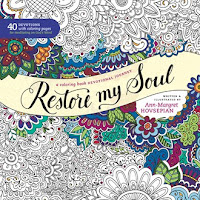 Restore My Soul devotional coloring book by Ann-Margret Hovsepian
