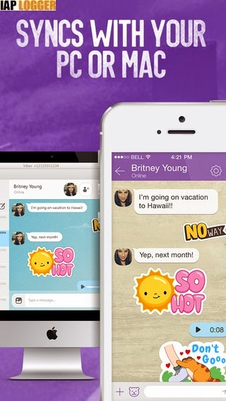 types of video game jobs: Viber v 5 1 1 IPA For iPhone iPad