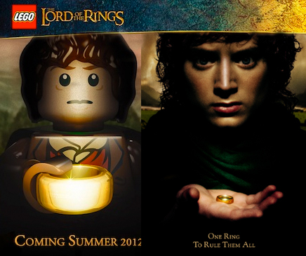 Lord Rings Wedding Ring On One Brick To Rule Them All Lego Of The
