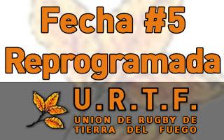 [URTF] Reprogramación Fecha #5 - Primera División