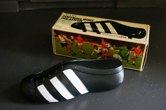 bouteille d'After-shave Avon ... authorised by Adidas football boot decanter avon