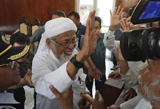 Radical Islamic cleric Abu Bakar Ba'asyir