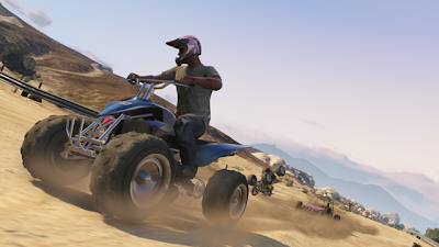 ATV Racing screenshot of online Grand Theft Auto V
