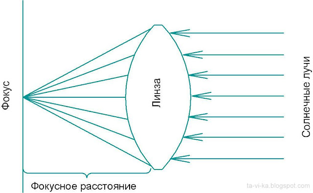 схема линзы