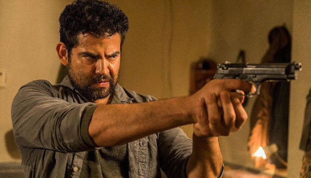 "8x02 ""The Damned"" de 'The Walking Dead', Morales"