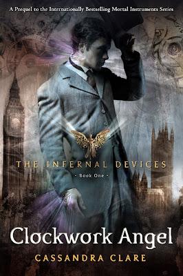 """News: Divulgada capa do livro """"Anjo Mecanico"""" de Cassandra Clare. 18"""