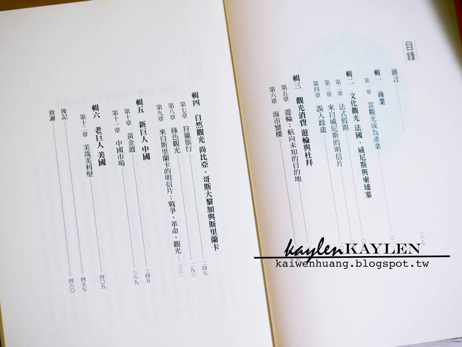 Kaiwen H...:    Reading    旅行的異義