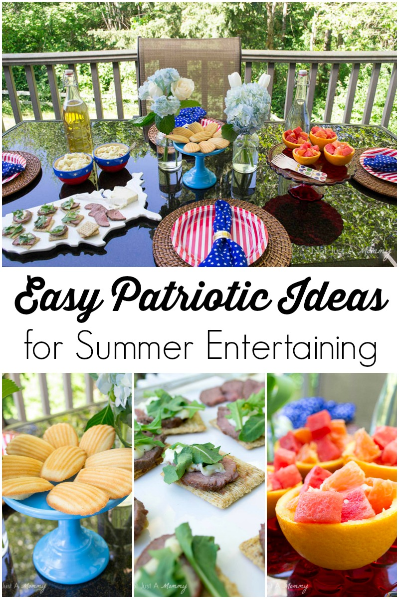 Easy Patriotic Ideas For Summer Entertaining
