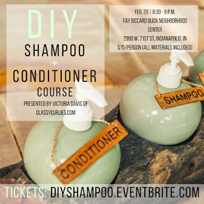 DIY shampoo and conditioner class - Indianapolis