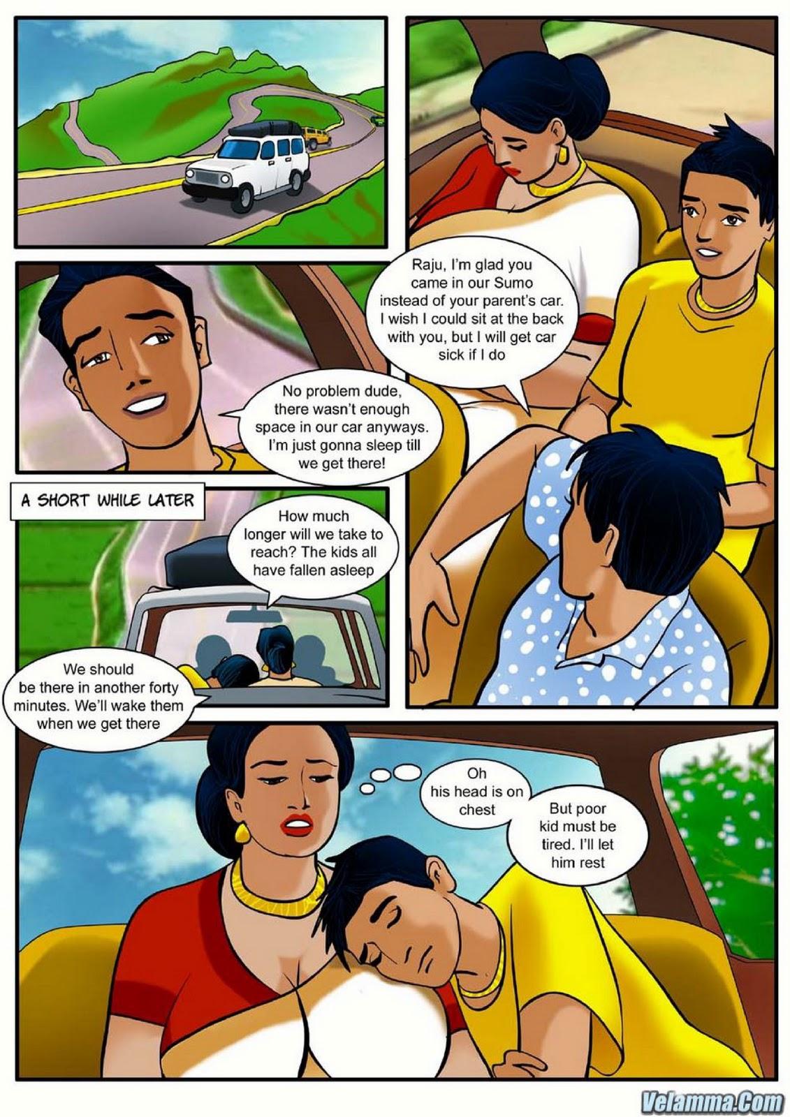 Cartoon sex story