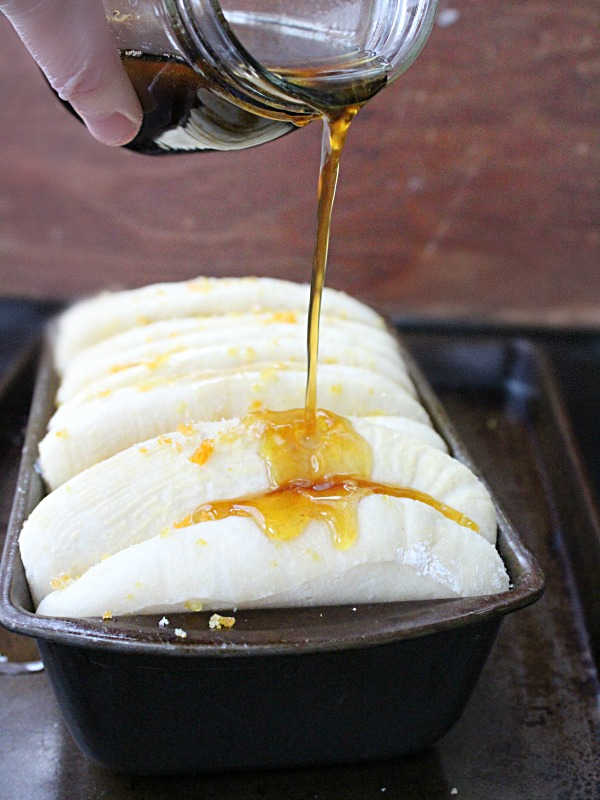 Vanilla Orange Pull Apart Bread from Table for Seven