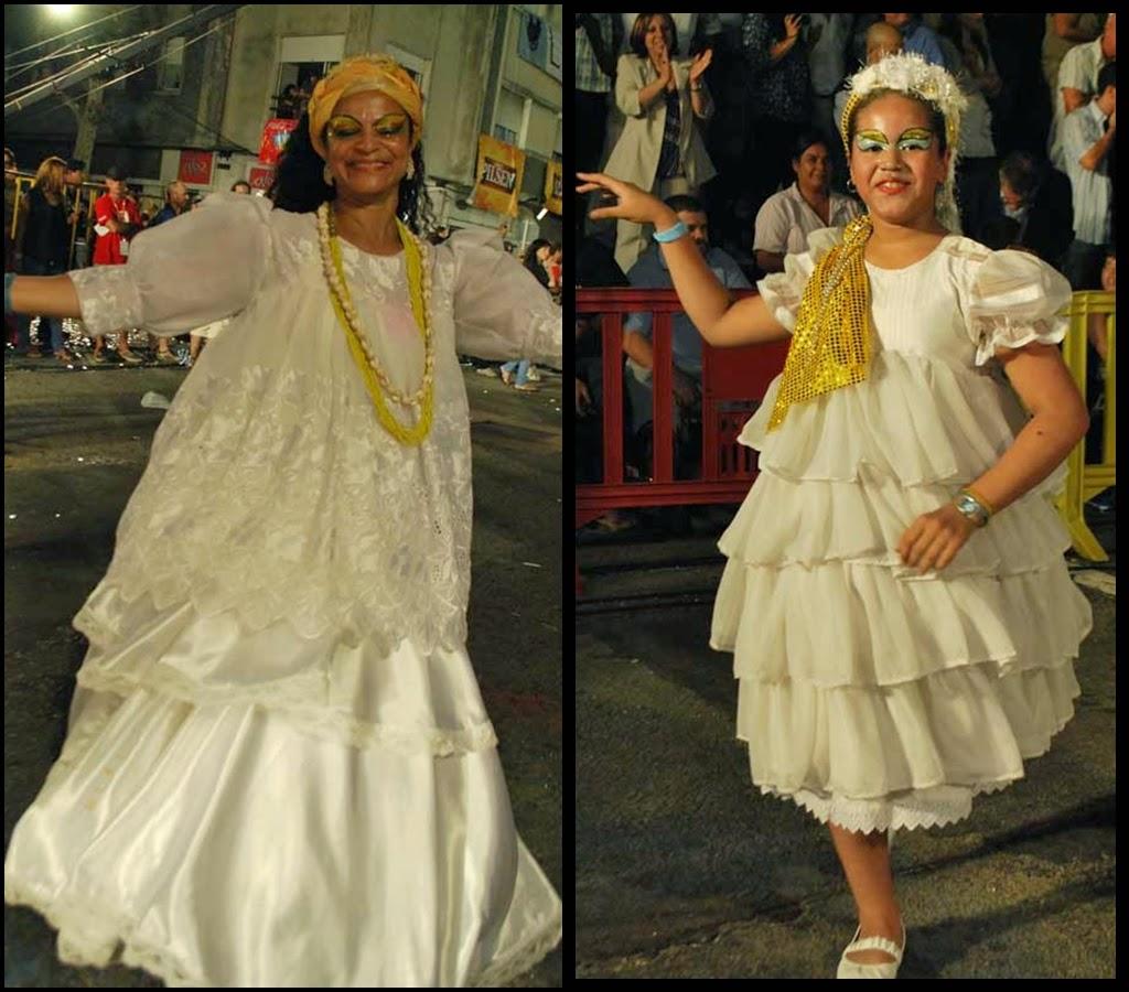 Desfile de Llamadas.Mi Morena. Susana Andrade. Montevideo. 2011.