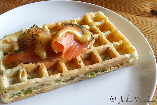 Lauchwaffeln - Jankes Soulfood