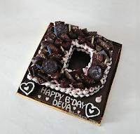 alphabet cake surabaya