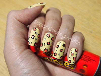 Isabel Lee Malaysian Beauty Amp Lifestyle Blogger Bright Yellow Leopard Nails