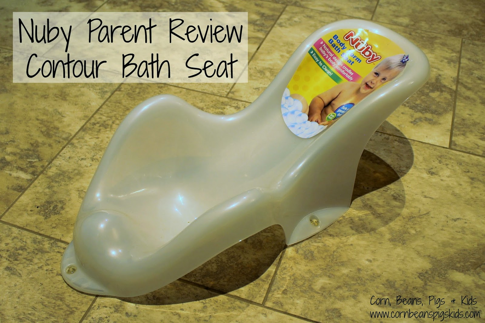 Nuby Parent Review - Contour Bath Seat