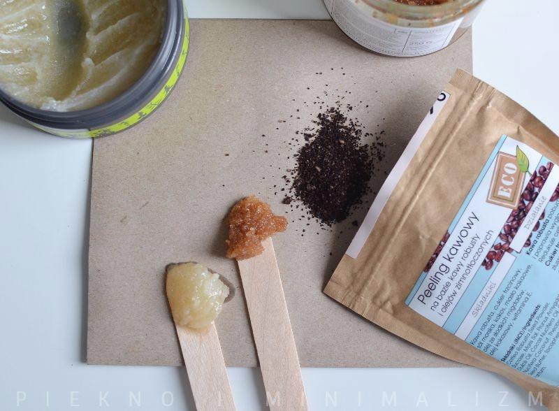 peeling kawowy do ciała, peeling solny do ciała