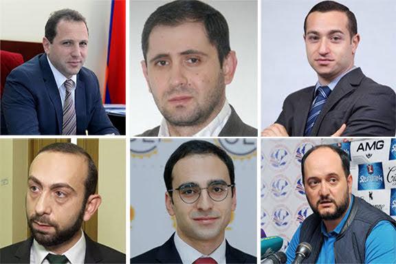 El presidente armenio nombra nuevos miembros del gobierno