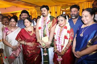 Music Director Amrish Keerthy Wedding Stills 0001