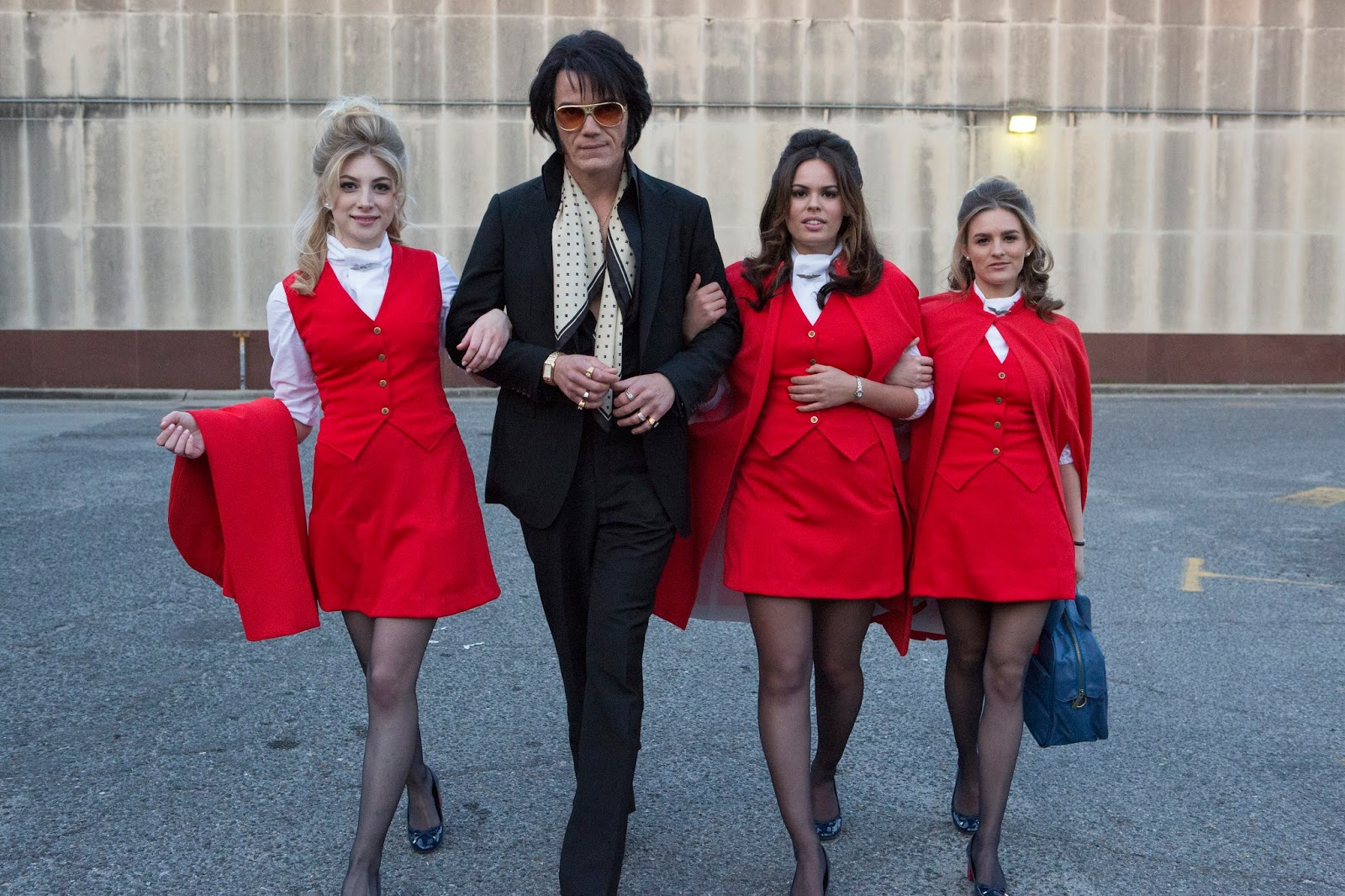 ELVIS & NIXON Review ~ Reviews From A Bed
