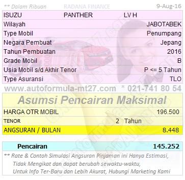 Pinjaman-145-2Thn-ISUZU-PANTHER-LV H