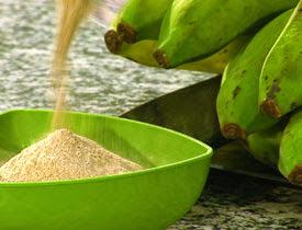 farinha de banana verde - beneficios
