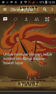 Download BBM Mod Kyubi Kurama v3.1.0.13 Apk Terbaru