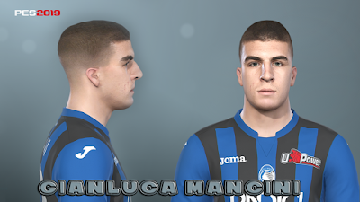 PES 2019 Faces Gianluca Mancini by Prince Hamiz