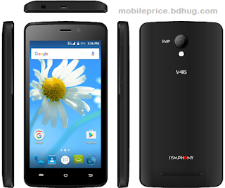Symphony V46 Feature, Specification, Price In Bangladesh
