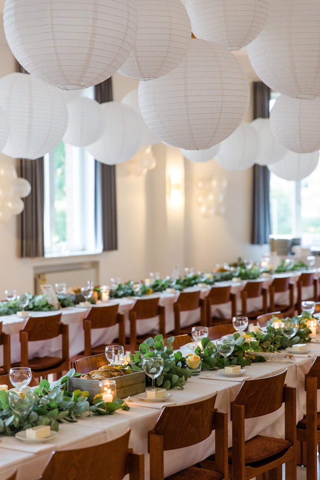 Hochzeitstischdeko selbstgemacht sommer