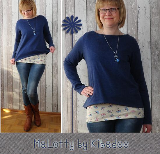 Doppelshirt MaLotty by Kibadoo