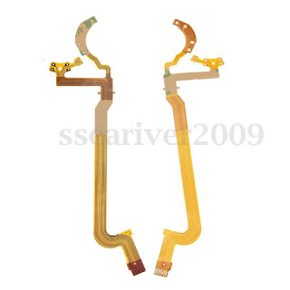 2PCS Cameras Lens Aperture Flex Cable for CANON EF-S 18-55mm f/3.5-5.6 IS / II