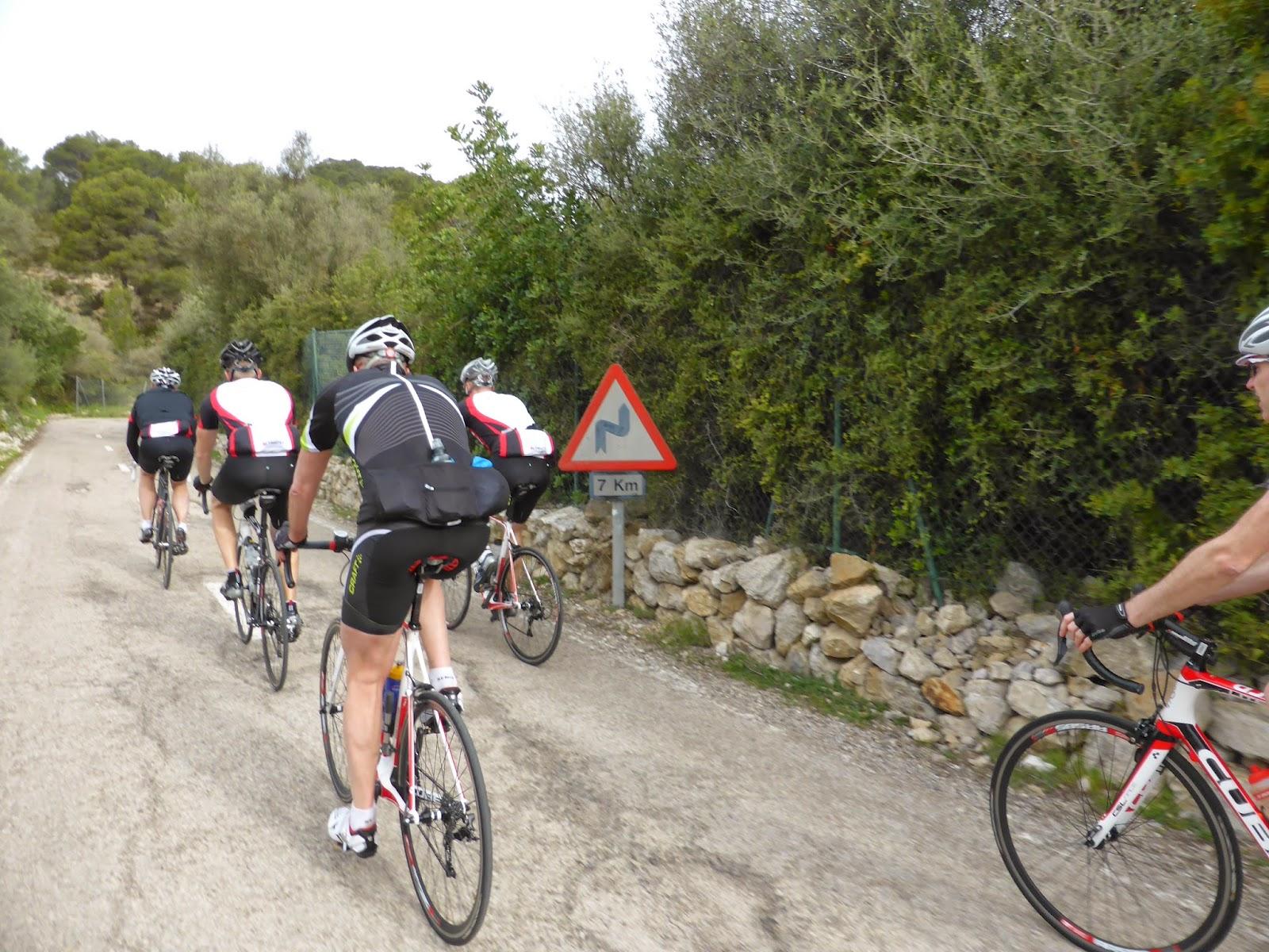 Smuk Tomas - Cykel och livet: Mallorca 2014 - Militärbacken, Valdemossa NT-91