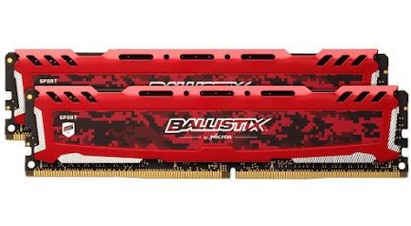 Ballistix Sport LT 2x4 GB DDR4 2400