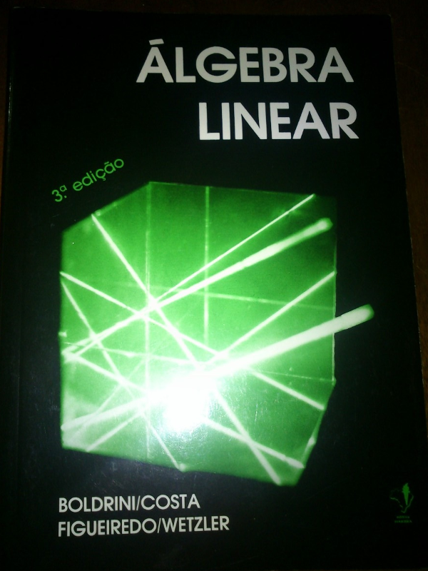 Álgebra Linear - Boldrini
